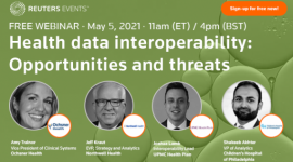 WEBINAR: Health data interoperability: Threats and opportunities